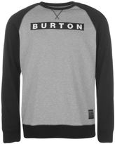 Burton Mens Vault Crew Sweater Jumper Pullover Long Sleeve Classic Style