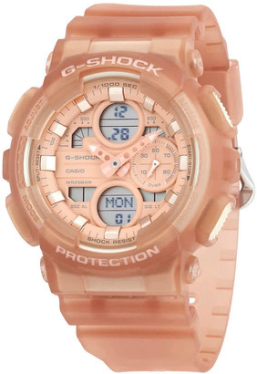 Casio G-Shock Alarm World Time Chronograph Quartz Analog-Digital Watch GMAS140NC-5A1