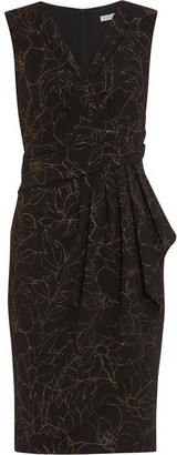Gina Bacconi Goretti Crepe Dress