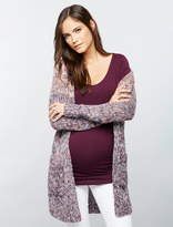 A Pea in the Pod Ombre Open Front Maternity Cardigan