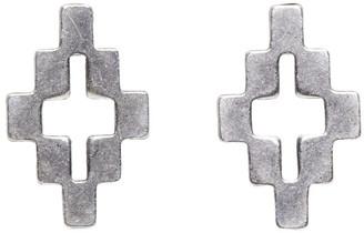 Marcelo Burlon County of Milan Silver Cross Stud Earrings
