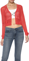 Belle Femme Fashions Knitted Cropped Cardigan