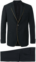 Tonello contrast piping suit