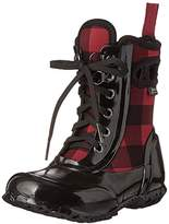 Bogs Sidney Lace B. Plaid Winter Snow Boot