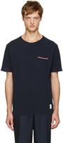 Thom Browne Navy Distressed T-Shirt