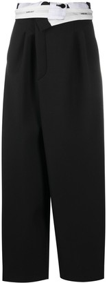 Ambush Ladies Folded Trousers 1 Black