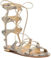 Schutz Erlina Gladiator Leather Sandal