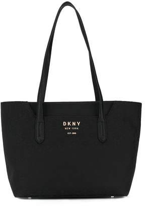 DKNY Noho logo-pattern tote