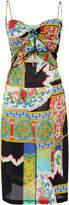 Rachel Comey Chernist Tie Front Cotton Dress