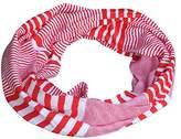 Tickled Pink Women's Multi-stripe Infinity