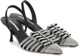 Marco De Vincenzo Embellished slingback sandals