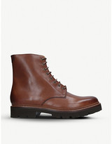 Grenson Hadley leather Derby boots