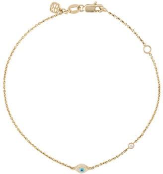 Sydney Evan Eye Pendant Bracelet