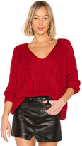 Tularosa Adams Sweater in Red. - size L (also in M,S,XS,XXS)