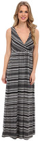 Mod-o-doc Beach Stripe Cotton Modal Maxi Dress