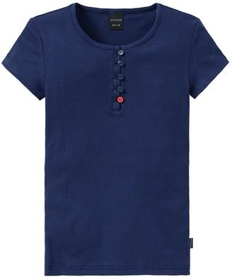 Schiesser Girl's Mix & Relax Shirt 1/2 Arm Pyjama Top