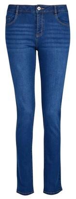 Dorothy Perkins Womens Blue Midwash 'Ellis' The Classic Slim Fit Denim Jeans, Blue