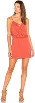Krisa X Front Mini Dress in Rose. - size S (also in XS)
