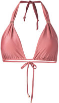 Vix Paula Hermanny metallic detail bikini top - women - Polyamide/Spandex/Elastane - M
