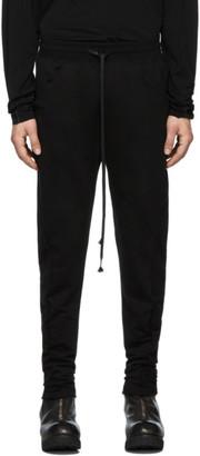The Viridi-anne Black Fleece Lounge Pants