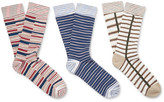 Missoni - Three-pack Patterned Cotton-blend Socks