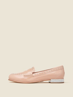 DKNY Donna Karan Women's York Patent Leather Loafer - Rose - Size 8