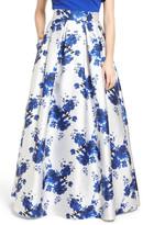 Eliza J Floral Mikado Ball Skirt