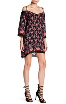 Angie Cold Shoulder Crochet Dress
