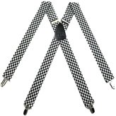 Buy Your Ties Mens Checkered Suspender Made in USA