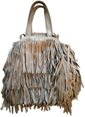 Jerome Dreyfuss Billy Grey Leather Handbags