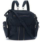 Alexander Wang Mini Marti Blue-green Leather Backpack