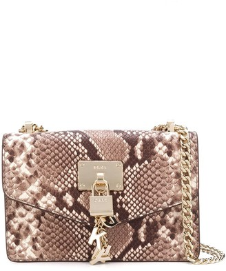 DKNY Snakeskin Effect Crossbody Bag