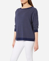 N.Peal Stripe Cashmere Sweater