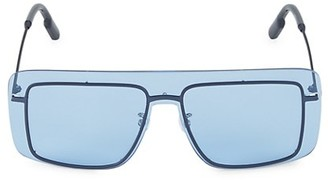 Kenzo 149MM Square Shield Sunglasses