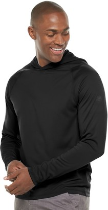 ZeroXposur Men's Finite Sun-Blocking Hooded Swim Pullover