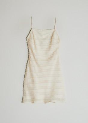 Stelen Women's Britta A-Line Dress in Ivory, Size Small | Spandex