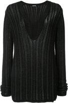 Maiyet v-neck jumper - women - Silk/Cotton/Cashmere - S