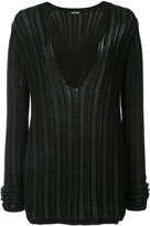Maiyet v-neck jumper - women - Silk/Cotton/Cashmere - XXXS