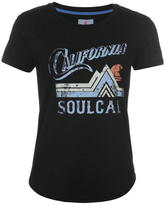 Soul Cal SoulCal Cal Vintage Tee Ld74