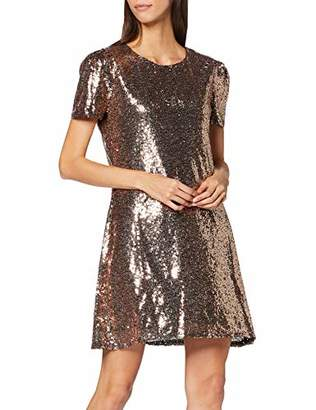 Yumi Women's DRES Occasion Party Dress, (Gold 29), (Size:)
