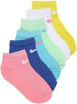 Nike Pastel Performance Youth No Show Socks - Girl's