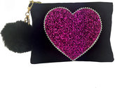 Lisa Bea Love suede bag
