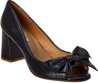 French Sole Vancouver Leather Pump