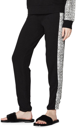 Monrow Vintage Colorblock Snake Sweatpants