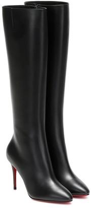 Christian Louboutin Eloise 85 knee-high leather boots