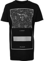 River Island Boys black leopard print oversized T-shirt