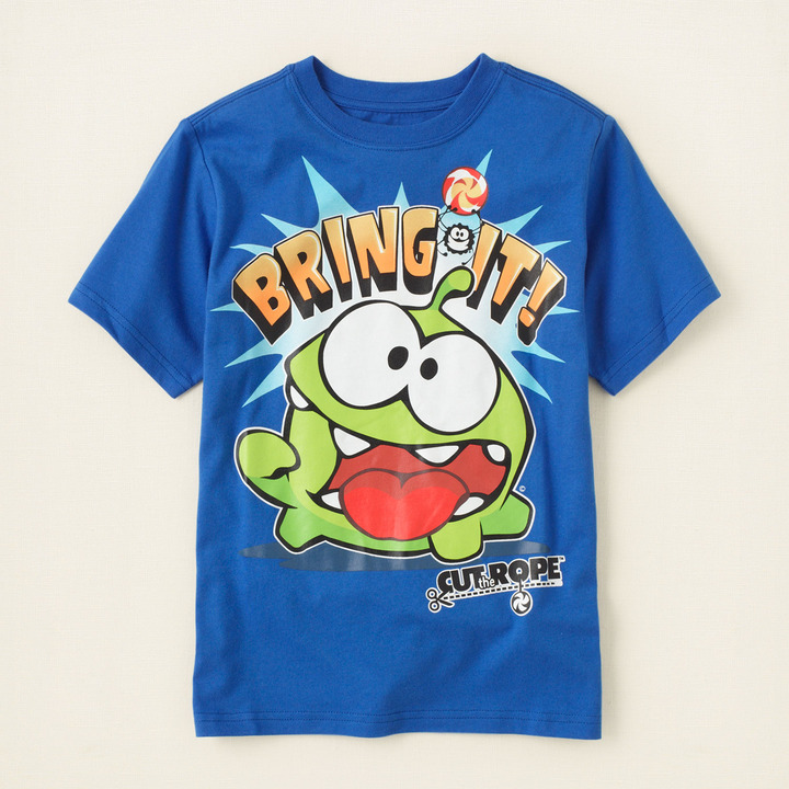 Children's Place Cut the Rope graphic tee