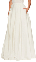 Jenny Packham Pleated Maxi Skirt