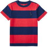 Ralph Lauren Striped Cotton Jersey Tee
