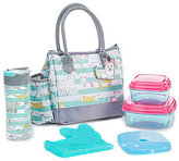 Fit & Fresh Megan Striped Dog Park Insulated Lunch Kit